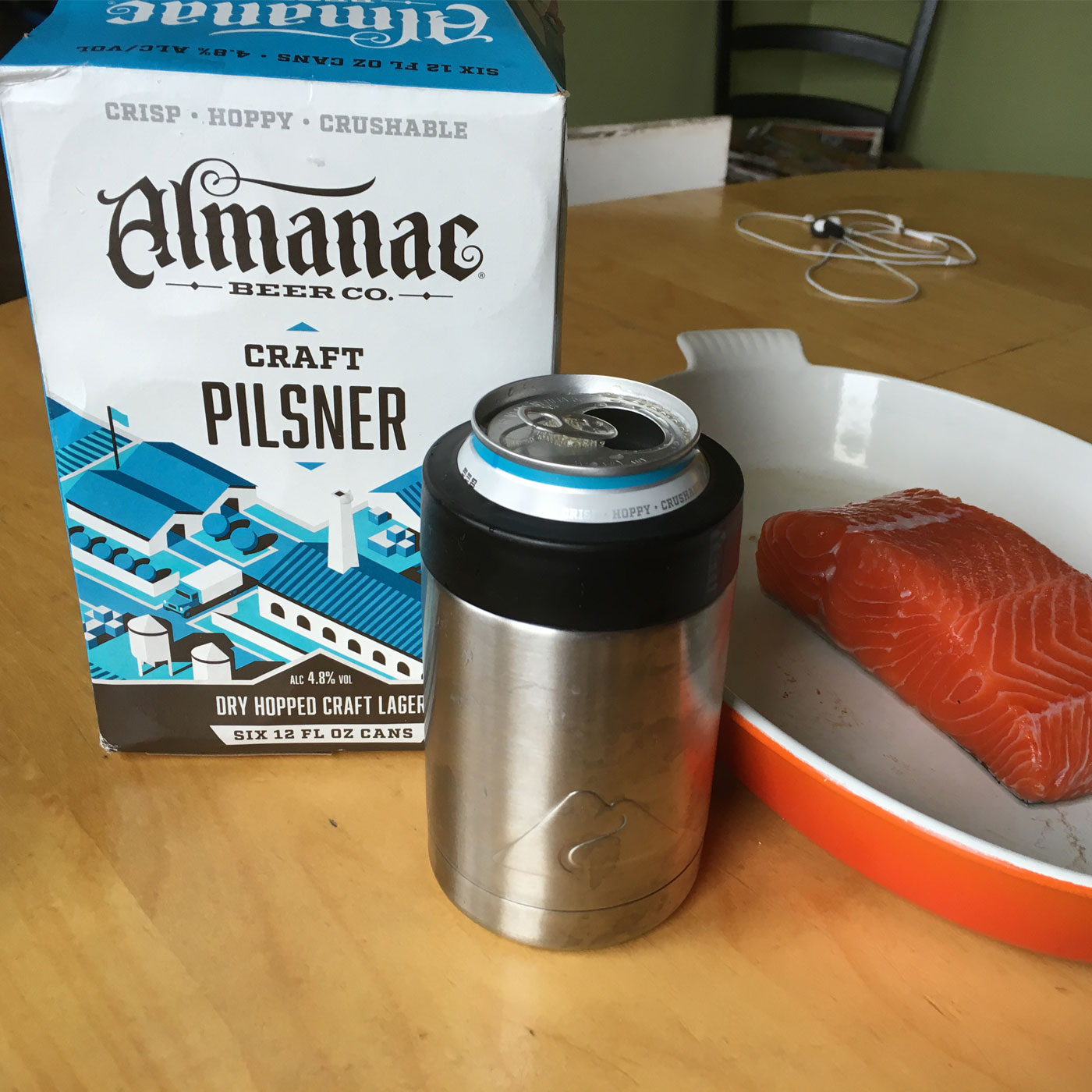 Beer and Fish Of The Moment- Dog Days Of Podcasting Day 21