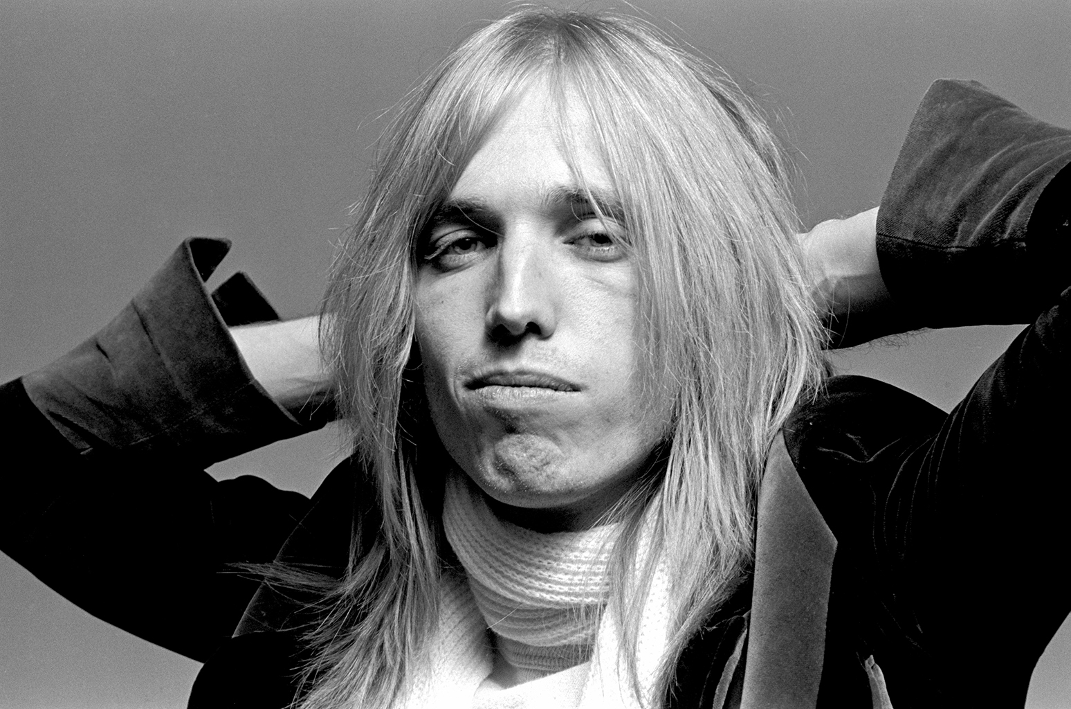 NEW YORK: Tom Petty from Tom Petty and the Heartbreakers posed in New York in 1976 (Photo by Richard E. Aaron/Redferns)
